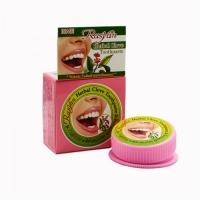 Твёрдая зубная паста Herbal clove toothpaste 25 гр