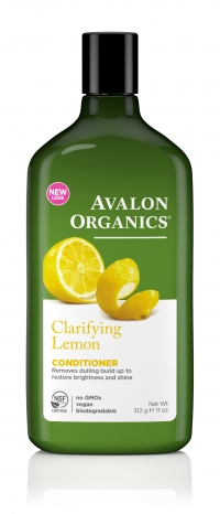 Кондиционер Avalon Organics с маслом лимона для усиления блеска