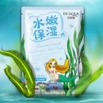 Омолаживающая тканевая маска BioAqua Natural Extract с морскими водорослями