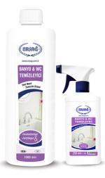 Чистящее средство для ванной и туалета Ersag, с аппаратом,  1000 мл