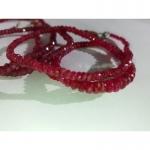 Рубин бусы топ качество 48 см