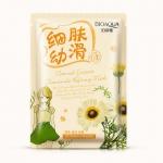 Очищающая тканевая маска BioAqua Natural Extract с экстрактом ромашки