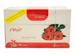 Чай Hemani Rose 20 пакетиков 40г