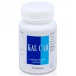 Устричный кальций Kal Cab, 100 капсул