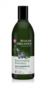Гель для ванны и душа Avalon Organics с маслом розмарина