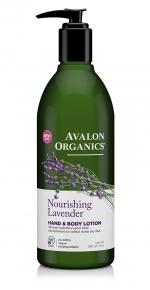 Лосьон для рук и тела Avalon Organics с маслом лаванды