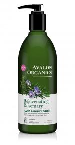 Лосьон для рук и тела Avalon Organics с маслом розмарина