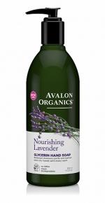 Глицериновое мыло для рук Avalon Organics с маслом лаванды
