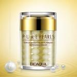 Увлажняющий крем с натуральной жемчужной пудрой BioAqua Pure Pearls