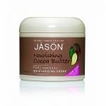 Крем Jason с маслом Какао питательный увлажняющий Nourishing Cocoa Butter, 113г