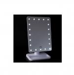 Зеркало настольное с подсветкой, 20 ламп