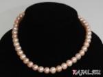 Ожерелье из розового крупного жемчуга (в подарочной упаковке)