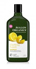 Шампунь Avalon Оrganics с маслом Лимона для увеличения блеска