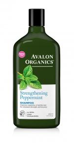 Шампунь Avalon Organics с маслом Мяты укрепляющий