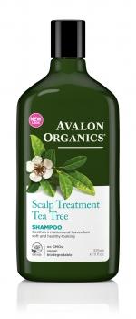 Шампунь Avalon Organics с маслом Чайного дерева