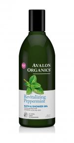 Гель для ванны и душа Avalon Organics с маслом мяты