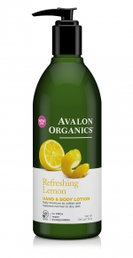 Лосьон для рук и тела Avalon Organics с маслом лимона