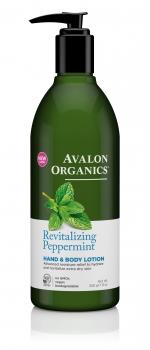 Лосьон для рук и тела Avalon Organics с маслом мяты