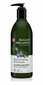 Глицериновое мыло  для рук Avalon Organics с маслом розмарина