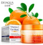 Маска-патч для глаз от темных кругов Bioaqua с витамином С
