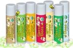 Органический веганский стик-уход для губ лечебный Мандарин и ромашка Sierra Bees